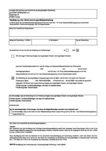 thumbnail of Bestätigung Spende für Steuer – Vorausgefüllt